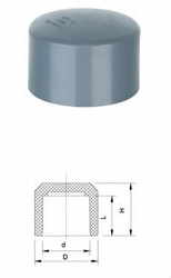 High Performance Plumbing Materials plastic end cap