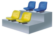 VIP stadium seat/Plastic stadium chair with back CT-Q30