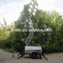Mine Spec. low voltage DC LED Mobile lighting tower