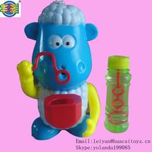animal shaped bubble making toy