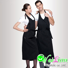 Factory Customized Wholesale Kitchen Apron Patterns Women Pinafore Dress With Pockets