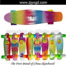 "Graphic series Fade 22"" Custom Penny Skateboard Retro Mini Skate long board cruiser longboard complete skating"