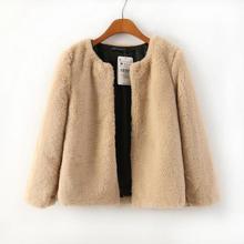 2014 new winter fashion wild European and American style lamb fur women short coat blouse 107