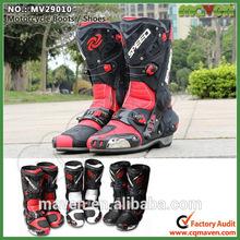Custom Motorbike Racing Boots Mens Motorcycle boots Women MV29010