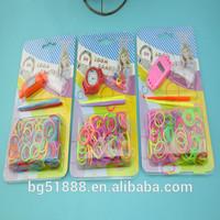 BoGao 2014 loom bands watch kit diy kids fun wrist watch making kit