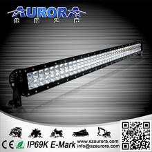 Waterproof 40'' 240w dual light 4x4 led driving light bars