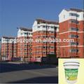 forte taxa de cobertura de parede exterior acrílico acabamento de pintura