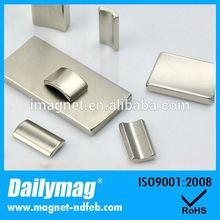 High Grade furniture edge trim strip ndfeb magnet