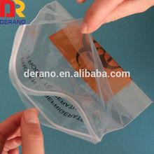 custom LDPE plastic specimen zipper bag autoclavable biohazard bags