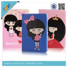 2014 Factory Latest design cartoon pu leather case for ipad mini from China