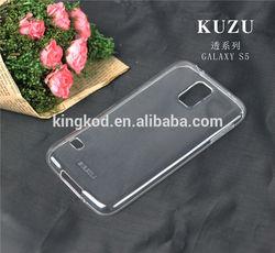 Kuzu high quality fashion design cheap tpu back cover case for Samsung galaxy S5