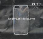 Kuzu high quality fashion design transparent TPU cheap brand cell phone case for apple iphone 5/5s china supplier