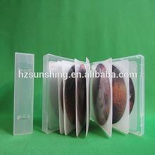 High quality professional plastic pp square vcd box