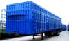 3 axles box enclosed semi trailer for sale / box truck semitrailer