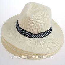 2014 Hot Sale Fantastic Men Paper Straw Fedora Hat