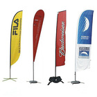popular outdoor advertising flying feather flag banner