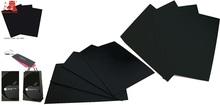 4.9mm black cardboard paper sheet/black paperboard/paper board/black paper card 5.0mm 5.1mm 5.2mm 5.3mm 5.4mm 5.5mm 5.6mm