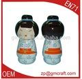 Bonecas de madeira japonesa stlye bonecas