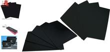 Smooth black cardboard paper sheet/black paperboard/paper board/black paper card 2920gsm 2930gsm 2940gsm 2950gsm 2960gsm 2970gsm
