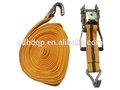 amarelo atadura de amarração de carga da máquina