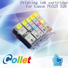 Watermark ink cartridge for Canon PG525 526 PIXMA IP4850/IX6550/MG5150/MG5250/MG6150/MG8150/MX885