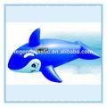 Balena gonfiabile blu, di plastica blu whale rider per i bambini