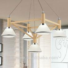 Zhong shan led good lighting jewerly shape acrylic chandelier