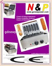 new power Muffin hot dog machine 6 stickers/wafer maker/waffle machine/waffle making machine/waffle baker/waffle baking machine