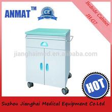 CE certified plastic steel hospital storage cabinet