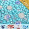 JY-G-89 Blue pool mosaic tile colored glass Bule glass mosaic iridescent glass pebbles