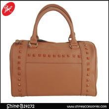 2014 Rivet Trend pu lady handbags