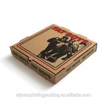 Top grade most popular custom pizza packaging box