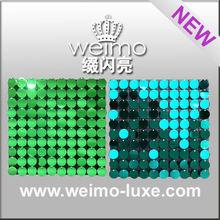 214 sequin PVC panel decorative building material