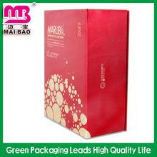 Wholesale oem fancy custom design engagement chocolate packaging round white kraft hard paper gift box