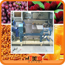 Fruit and vegetable wine production enterprise using special screw press