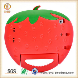 OEM welcomed Strawberry Shape New Arrival Lovely kids safe Tablets Cases for ipadmini