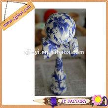 Chino tradicional azul y blanco kendama de lujo kendama catch juego
