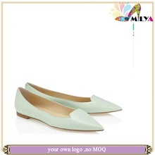 2014 women summer/autumn flat shoes!brand fashion Top quality genuine leather flat shoes!!