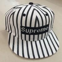alibaba online wholesale stock striped fashion baseball caps supreme snapback hats