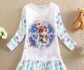 Güzel elsa kostüm, bebek elbise tasarımları, bebek kız elbise modelleri
