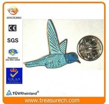 decorating glitter powder paint for bird shape metal badge