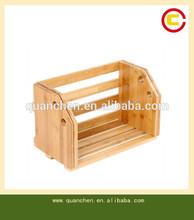 wholesale bamboo book storage tool book rack