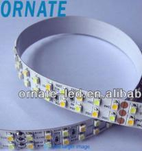Factory direct sale multcolor 24V Double Line 120pcs/m Waterproof Flexible RGBW SMD5050 led strip IP68