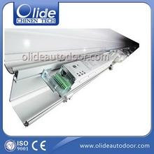 New style stylish automatic glass sliding door option