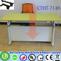 Escritorio de la esquina marquetería muebles portátil altura de la mesa de mesa ajustable manual de manivela