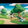 3d retrato dos desenhos animados do pato donald e mickey mouse para crianças que brincam