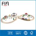 Niño juguete de madera de juguete camiones y coches AT11364