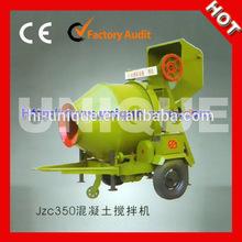 2015 Hot Sale JZC350 Portable Mini Concrete Mixer Price