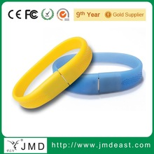 Promotional silicone series bracelet USB memory drive