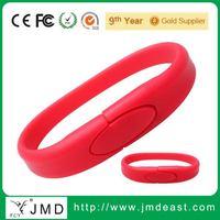 Promotional silicone bracelet USB memory drive